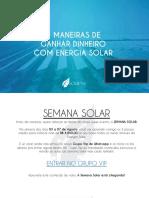 4 Maneiras de Ganhar DInheiro com Energia Solar