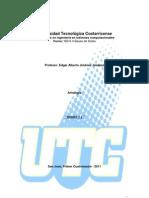 ISB 6-4 Bases de Datos - Antologia -2011  borrador cap I y II