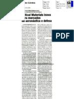 Critical Materials - Diário de Coimbra - 2008-03-30