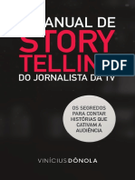 Vinícius Dônola - O Manual de Storytelling do Jornalista da TV