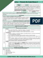 Plan 4to Grado - Bloque 4 Geografía (2017-2018)