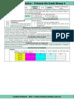 Plan 4to Grado - Bloque 4 Matemáticas (2017-2018)