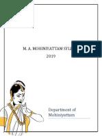 MA - Mohiniyattam