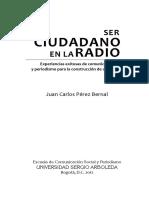 Ser cuidadano en la radio