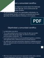 Epistemologia Objetividad y comunidad científica.pptx