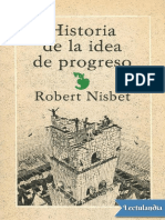Historia de la idea de progreso - Robert Nisbet
