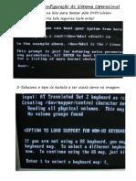 manual de instalação do sistema operacional