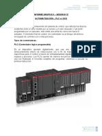 Informe Controladores PLC - DCS