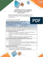 Guia de actividades y Rúbrica de evaluación - Unidad 1 y 2 - Construcción y aplicación de un modelo de diagnóstico organizacional - Fase 4.pdf