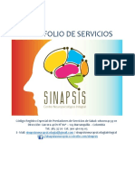 PORTAFOLIO SINAPSIS CNI IPS.