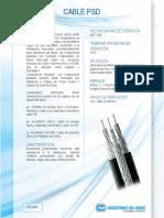 Cable PSD.  Conductores del Norte
