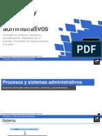 Procesos y sistemas administrativos