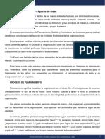 Diseño de Organizaciones y Procesos - Módulo 8 - Apunte de clase