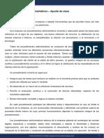 Diseño de Organizaciones y Procesos - Módulo 13 - Apunte de clase