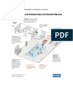 posters afiches datos piscina covid-19