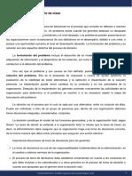 Diseño de Organizaciones y Procesos - Módulo 9 - Apunte de clase
