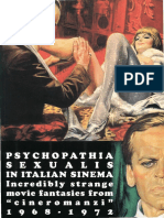 Psychopathia Sexualis in Italian Sinema