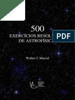 500 exercicios resolvidos de astrofísica