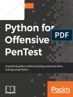 Python For Offensive Pentest A Complete Practical Guide To Ethical Hacking And Penetration Testing Using Python - Hussam Khrais (Packt Publishing;2018).pdf