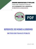 recueil des norme algeriennes MTP