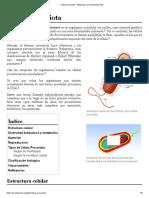 Célula procariota - Wikipedia, la enciclopedia libre