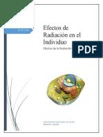 Efectos de la Radiacion a Nivel Celular (1)