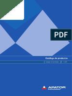 APATOR-POWOGAZ CATALOGO DE PRODUCTOS