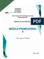 Manual Asignatura - Mezcla Promocional II