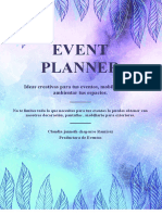 event planner cafam