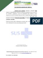 TERMO DE Uso - Hidroxicloroquina