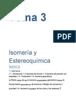 Isomería y estereoquímica