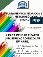 PARA PENSAR E FAZER UMA EDUCAÇÃO ESCOLAR EM ARTE..pdf