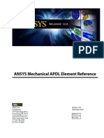 Mechanical APDL Element Reference