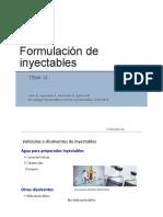 Formulacion de Inyectables Corregido
