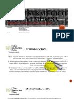 PLAN ESTRATÉGICO DE UNA EMPRESA -GRUPO 02 PPT