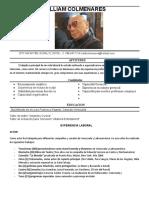 WILLIAM COLMENARES RESUME ACTUAL(2)