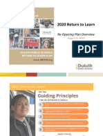 Duluth's 2020 Return to Learn