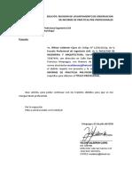 SOLICITUD REVISION DE PRACTICAS PRE-PROFESIONALES