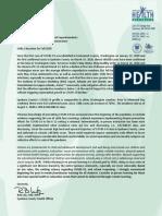 School District Letter - Dr. Bob Lutz