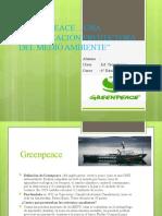 Green Peace medio ambiente y sus cuidado sexto básico