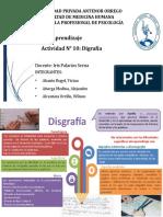 TRABAJO GRUPAL DE DISGRAFIA