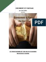 Renoncement et Partage -1