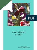 Voces abiertas al amor. Premio nacional Victoria de las Mercedes 1999