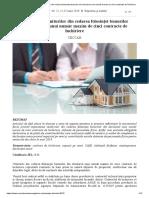 Impozitarea veniturilor din cedarea folosinței bunurilor din derularea unui număr maxim de cinci contracte de închiriere