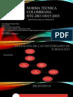 ntc-iso 10015