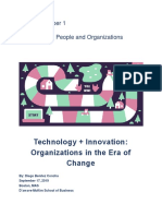 Technology + Innovation-  Organizations in the Era of Change