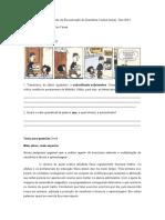 Colégio Farias Brito - Módulo de Recuperação de Gramática Textual (casa) - Dez 2014