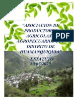 estatuto de la asociacio agricola