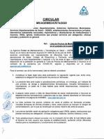 CIRCULAR CR-74-2020 LISTA DE PRECIOS DE MEDICAMENTOS E INSUMOS EN EL CONTEXTO DE LA PANDEMIA POR COVID-19.pdf