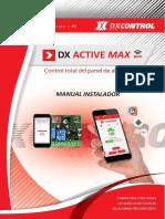 Manual Dx Active Max - Monitoreo